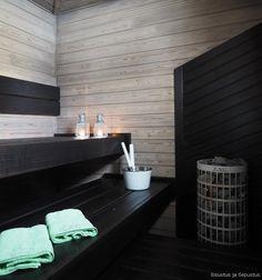 Inside A House, Finnish Sauna, Saunas, Room Ideas Bedroom, Home Spa, Laundry In Bathroom, Interior Inspiration, House Design, Sauna Ideas