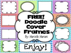 okThis package consists of 30 cover page frames you can use on your various teaching resources. Page Frames, Teaching Secondary, Doodle Borders, Free Cover, Free Teaching Resources, Frame Clipart, Borders And Frames, School Decorations, Document