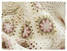 meditative: (Once again ...) granny blanket ...