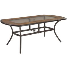 Shop Allen + Roth Safford Stone Top Brown Oval Patio Dining Table At Lowes.