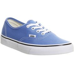 Vans Authentic ($72) ❤ liked on Polyvore featuring shoes, sneakers, marina white, trainers, unisex sports, unisex shoes, vans sneakers, waffle shoes, lace up sneakers and sport sneakers