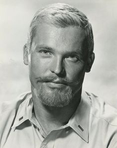 Rest in Peace, Ty Hardin January 1930 - 3 August Best known for the TV series Bronco - he also appeared in a number of Warner Bros. Steve Reeves, Vintage Gentleman, Vintage Men, Moustaches, Hairy Men, Bearded Men, Men Are Men, Blonde Guys, Hairy Chest