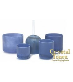 The Egyptian Blue® Crystal Singing Bowl Series