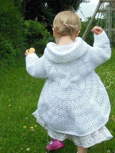 gilet mandala pour enfant au crochet