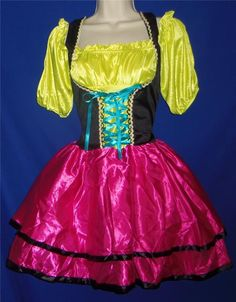 find best value and selection for your adult oktoberfest bavarian german beer maid tavern wench halloween costume m l search on ebay - Ebaycom Halloween Costumes