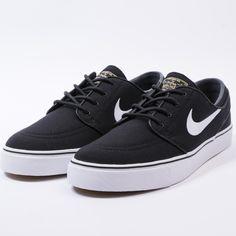 Nike zoom stefan janoski cnvs (blk/white-gm lght brwn-mtlc gl)-1
