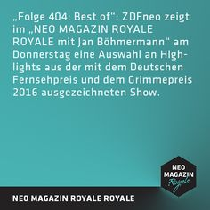 Best-Of Neo Magazin Royale (Quelle: ZDF)