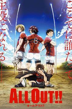 upcoming anime 2016, upcoming anime fall, All Out!, new anime, sports anime, anime 2016