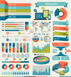 Infographic Elements Royalty Free Stock Vector Art Illustration