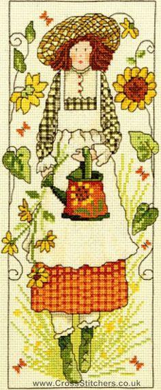 País Lass - Susannah - Threads Cabana Cross Stitch Kit