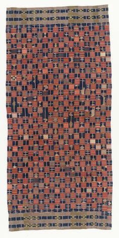 Africa | Ewe Cloth from Ghana | Karun Collection