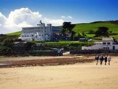 Burgh Island - Natural Feature in Bigbury on Sea, South Devon - Agatha Christie