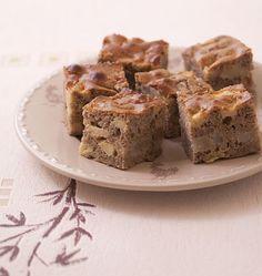 Photo de la recette : Gâteau moelleux aux pommes, poires et farine de sarrasin (sans gluten sans lactose)