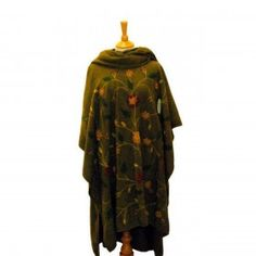 Embroidered Poncho ponchos & capes