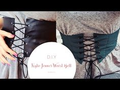 (1) DIY Kylie Jenner Corset Belt | 2 Ways - YouTube