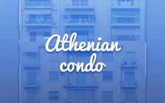 """Check out my @Behance project: """"Athenian condo"""" https://www.behance.net/gallery/57013635/Athenian-condo"""