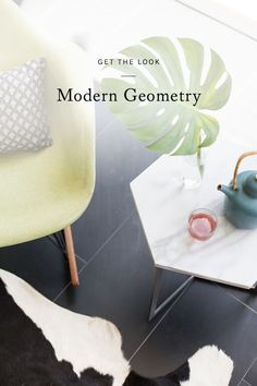 click through for some my favorite, easy ways to incorporate geometry into your home, workspace, and wardrobe.