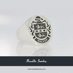 Walter family crest jewelry