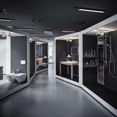 Amazing! Modularity & Design hand in hand. aquaMART sanitary showroom by FLÓ Architects, Budapest