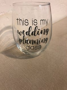 This is my wedding planning stemless wine glass / bride to be / wedding/ bridal gift/ stemless wine glass/ bride glass / engaged/ engagement Plan My Wedding, Wedding Planning, Engagement Couple, Wedding Engagement, Steps In Planning, Bachelorette Party Gifts, Wedding Consultant, Event Organization, Organizing