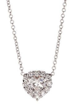 Heart diamond necklace. What do you think? Anniversary gift ? or  a  nice  me to me  gift?