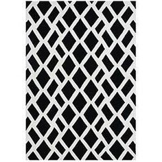 black and white modern area rugs - Google Search