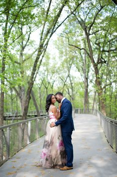Atlanta Engagement Photos: Atlanta Botanical Garden