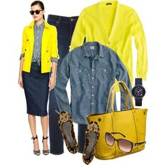 """""""Inspired...yellow"""" by luv2shopmom on Polyvore"""