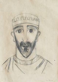 KRÁL MENKERA Roman Catholic, Siena, Auction, Sketch, Pencil, Illustration, Artist, Pictures, Sketch Drawing