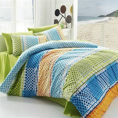 Bavlnené obliečky Fashion Green, 140 x 200 cm, 70 x 90 cm