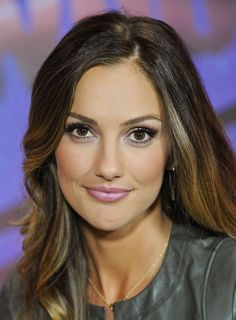 Minka Kelly - love her hair and makeup