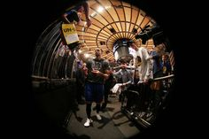 Stephen Curry of the Golden State Warriors signs autographs before the game against the New York Knicks on March 5 2017 at Madison Square Garden in...