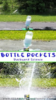 3, 2, 1 BLAST OFF! Back yard science experiments that are wildly fun for the whole family!