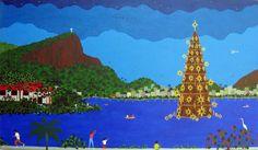 Árvore da Lagoa, 2010 Lúcia de Lima ( Brasil, contemporânea) acrílica sobre tela