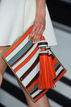 Love the colors! Anya Hindmarch Fall 2014