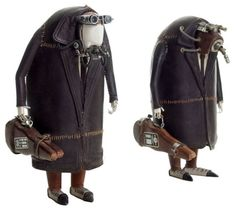 Steampunk miniature figures