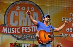 Chuck Wicks, NASHVILLE, TN - JUNE 09: Chuck Wicks performs on the Chevrolet Riverfront Stage during the 2013 CMA Music Festival on June 9, 2013 in Nashville, Tennessee. (Photo by Frederick Breedon IV/WireImage), 2013 Cma Music Festival, Cma Fest, Chuck Wicks, Music City Nashville, Country Artists, Nashville Tennessee, Country Music, Chevrolet, Singing