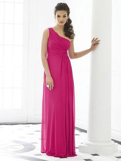 After Six 6651 Dress One-Shoulder Asymmetrical Neckline