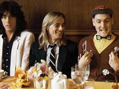 Cheap Trick with Rick being silly at the table...haha!!