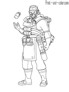 25 Fortnite Coloring Pages Black Knight Ange Pinterest