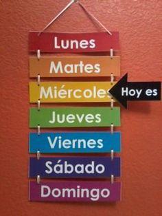 El calendario on Pinterest | Spanish, Youtube and Domingo