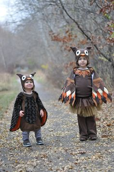make owl halloween costumes