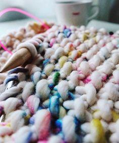 Hey, you. We found your new favorite yarn 🌈 #sprinkle #fantasy via @jule_e_punkt