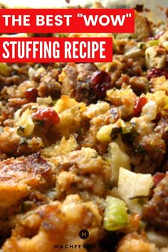 The Most Amazing Stuffing Recipe