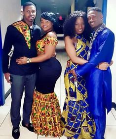 The Best Family Ankara Styles Mix Looking for the best ankara outfit that will be ok for your family? worry no more because we here at ANKARA XCLUSIVE gathered some lovely family collections of ankara styles. Couples African Outfits, Couple Outfits, African Attire, African Wear, African Women, African Wedding Dress, African Print Dresses, African Fashion Dresses, African Dress