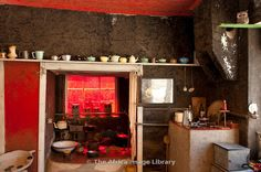 Photos and pictures of: Kitchen, The Owl House, Nieu Bethesda, Eastern Cape, South Africa - The Africa Image Library