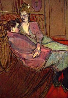 Toulouse-Lautrec - The Two Friends: 1894