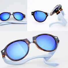 Summer Blue  #sunglasses #baendit #modular #bendable
