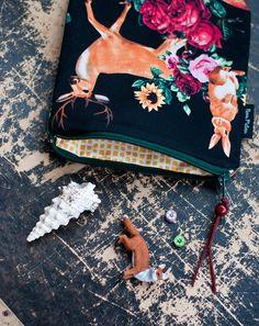 novamelina - www.novamelina.com    #accessories #accessory #animals #floral #cute #handmade #pouch