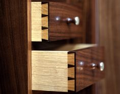 Secret drawers are one of the most challenging features to include in a piece of furniture. Dovetail Drawers, Bespoke Furniture, Wine Rack, Storage, Home Decor, Purse Storage, Bottle Rack, Decoration Home, Room Decor